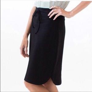 Agnes & Dora Womens M NWT Knit Skirt Drawstring